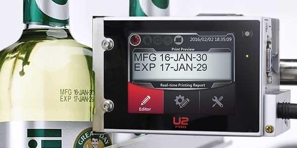 marcatore data e lotto con display