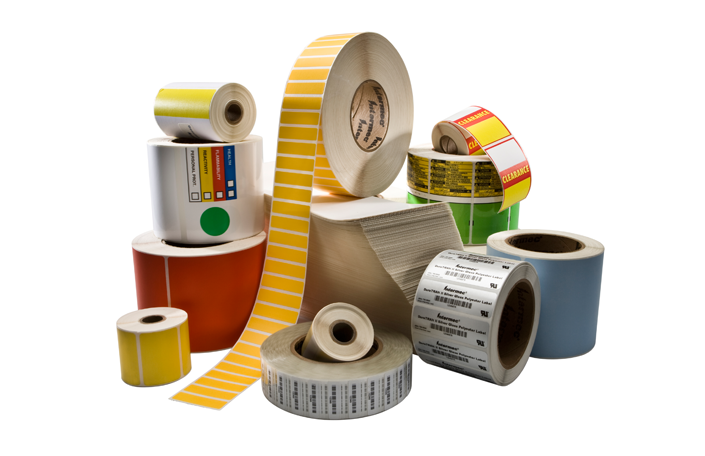 etichette adesive per stampanti a trasferimento termico