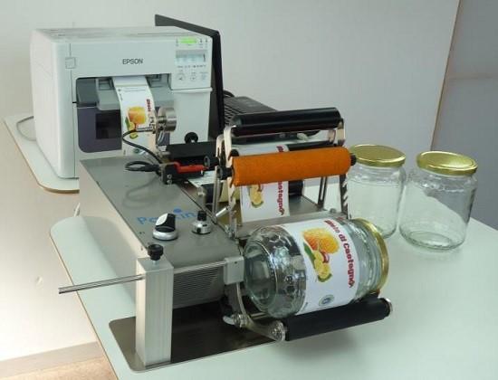 ACK2 applicatore semi-automatico per superfici cilindriche