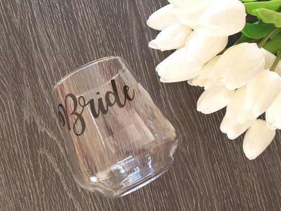 etichetta matrimonio per bicchiere personalizzata