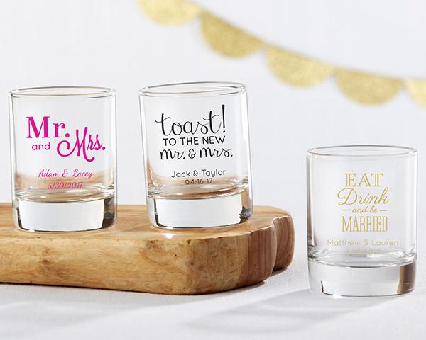 etichetta matrimonio bicchiere