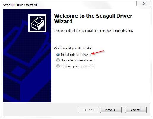 installazione driver stampanti di etichette