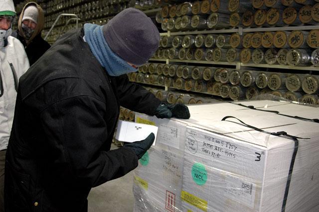 lettori di codice a barre per magazzini freddi