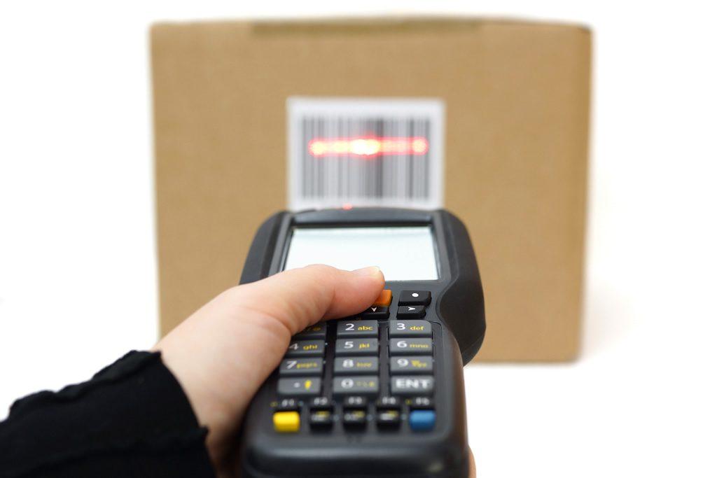 terminale di codice a barre per magazzino