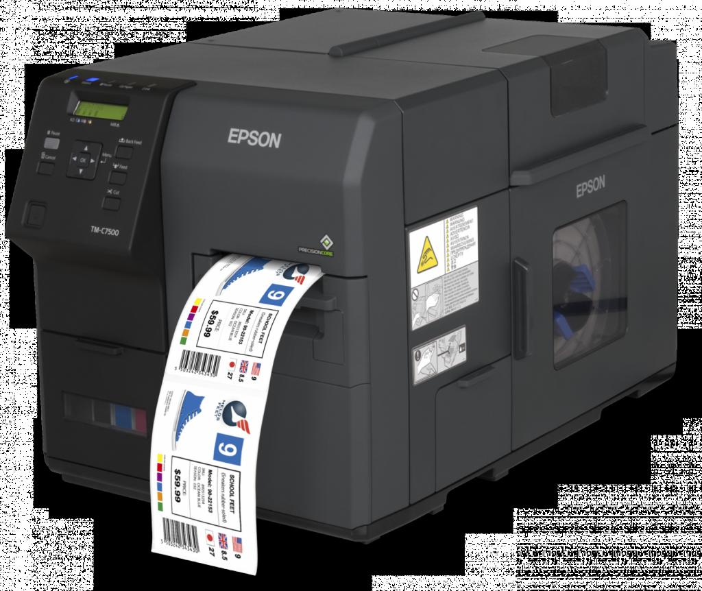 epson 7500 stampante di etichette a  colori