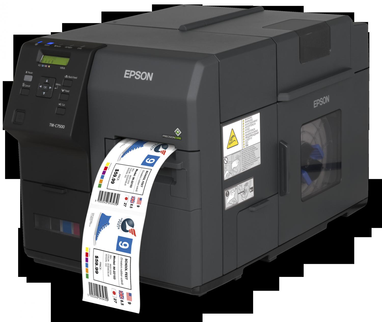 stampante di etichette a  colori