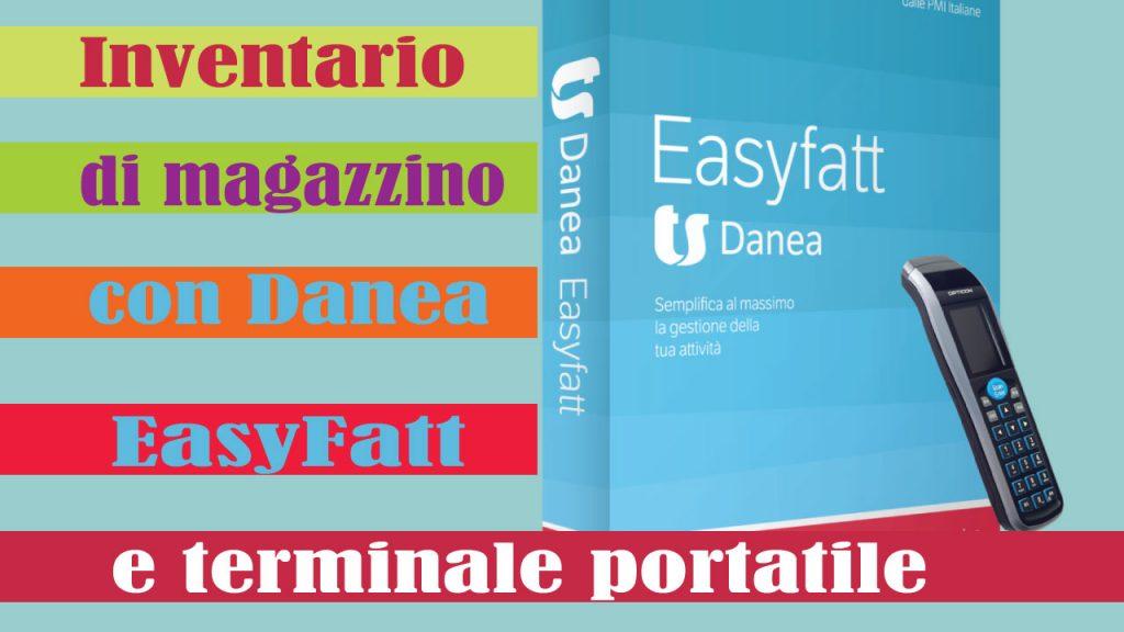 gestione  magazzino con Danea EasyFatt e terminale portatile