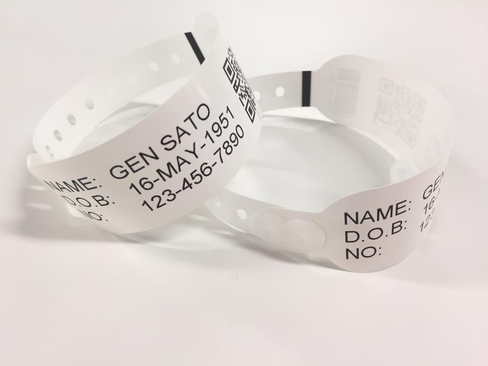 braccialetti ospedalieri identificazione pazienti