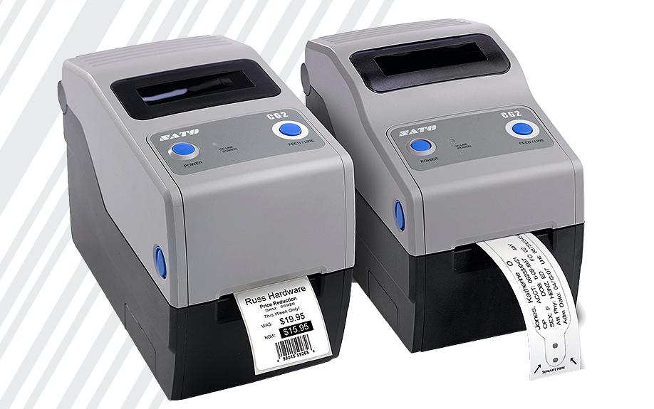stampante Sato per braccialetti ospedalieri CG2