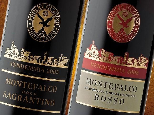 etichetta per il vino classica
