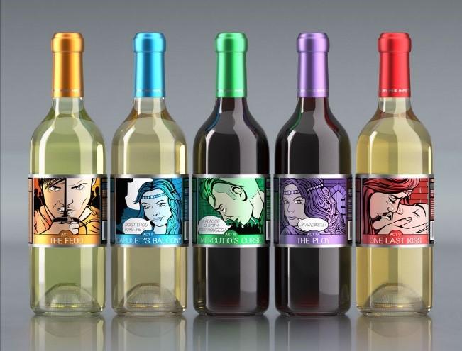 etichetta vino accattivante