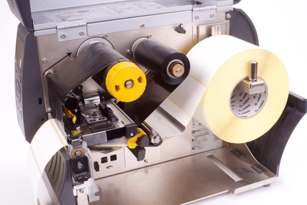 nastro di stampa per stampanti a trasferimento termico Zebra