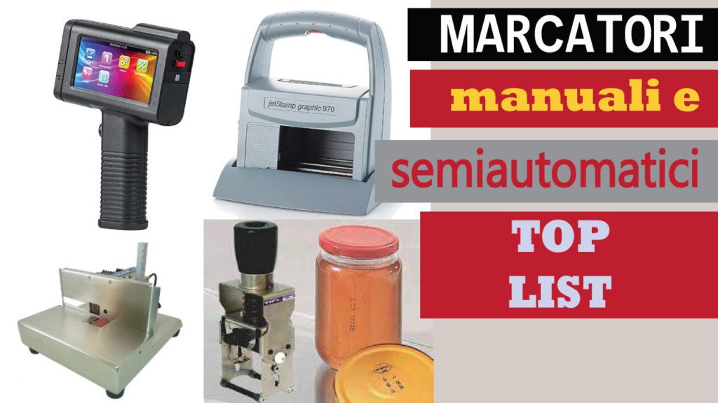 marcatori manuali e semi-automatici per data e lotto