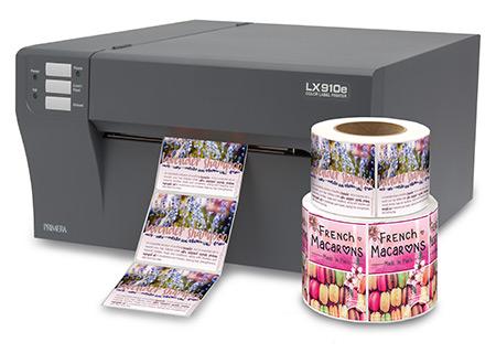 progettazione e stampa in autonomia di etichette