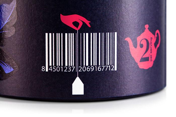codice a barre per confezioni e tisane