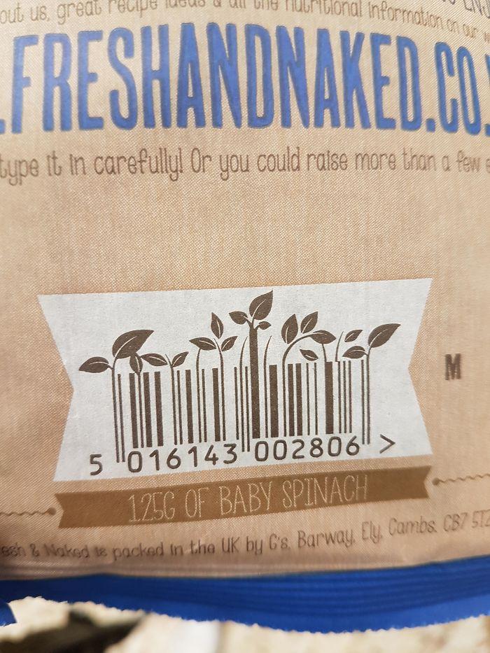 codice a barre su snack