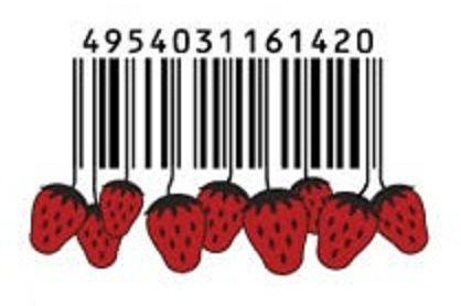 codice a barre con frutta