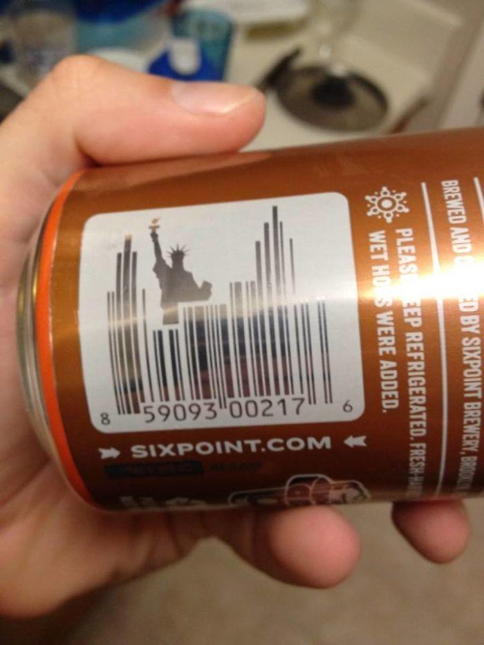 codice a barre su bevande