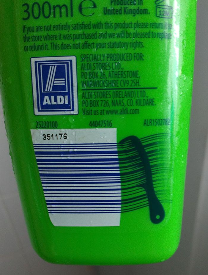 codice a barre detergenti e cosmetica
