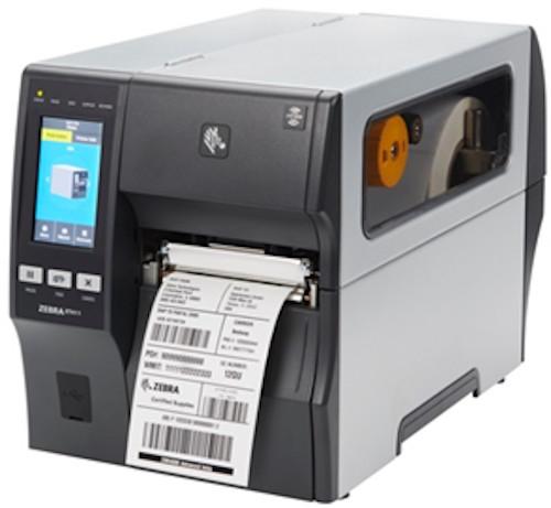 stampante Zebra industriale per codice a barre