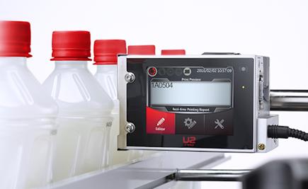 Marcatore Anser U2 con tecnologia TIJ a cartuccia per data e lotto di produzione