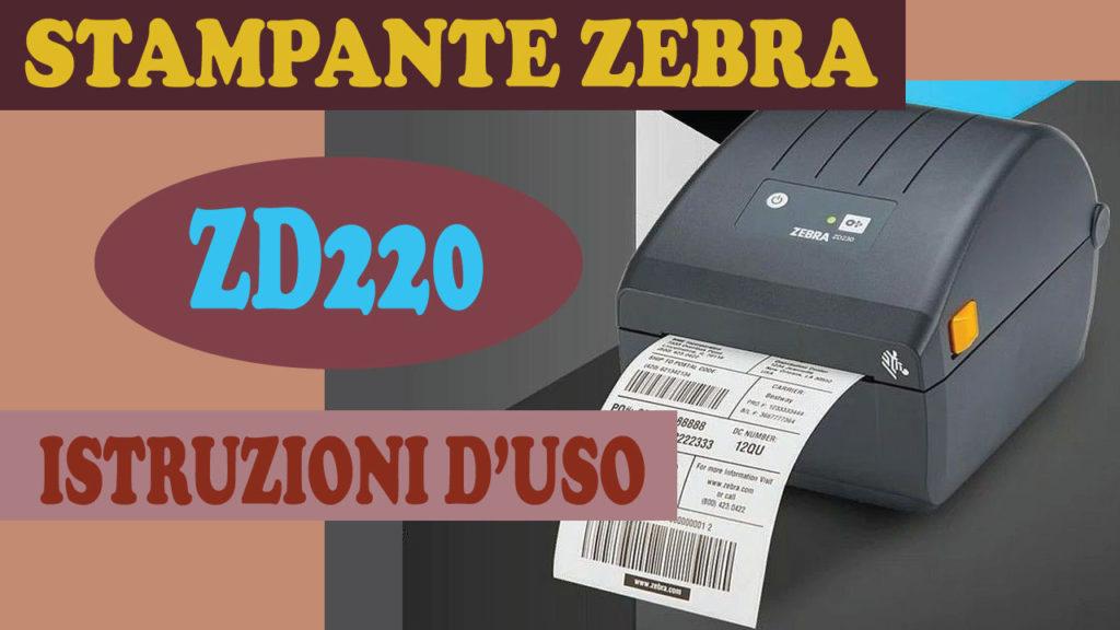 stampante zebra zd220 impostazioni del driver