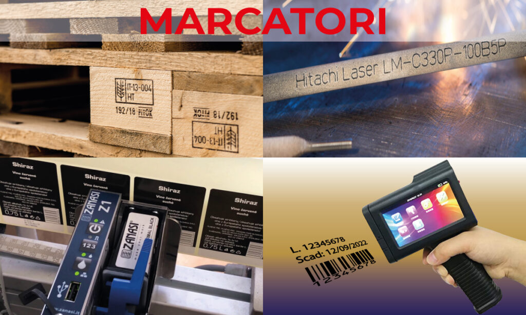 marcatori manuali, semi-automatici e automatici per data e lotto