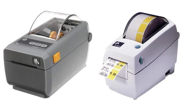 stampante di etichette zebra zd410 e tlp2824