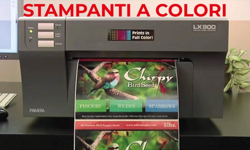 stampanti di etichette a colori per la stampa in autonomia