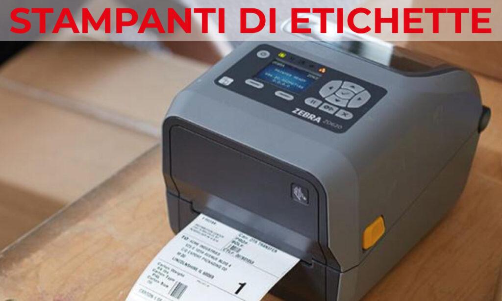 stampanti di etichette termiche vendita installazione e configurazione
