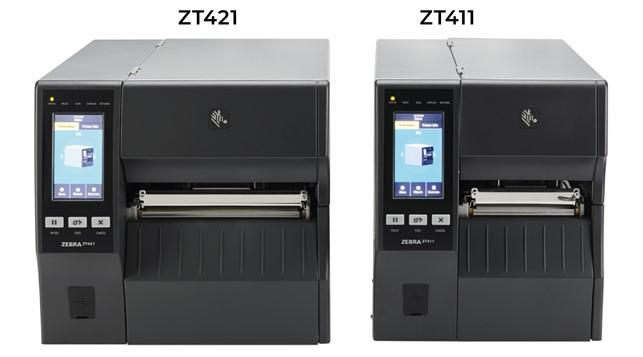 stampante industriale Zebra zt421 e zt411