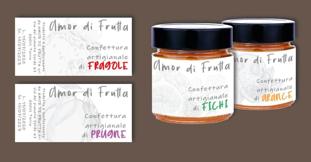 GRAFICA etichetta per marmellate e confetture come stamparla