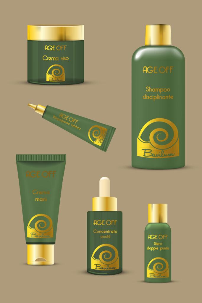grafica etichette adesive per cosmetici