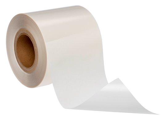 etichetta in poliestere trasparente per applicazioni ad alta temperatura e per metalli