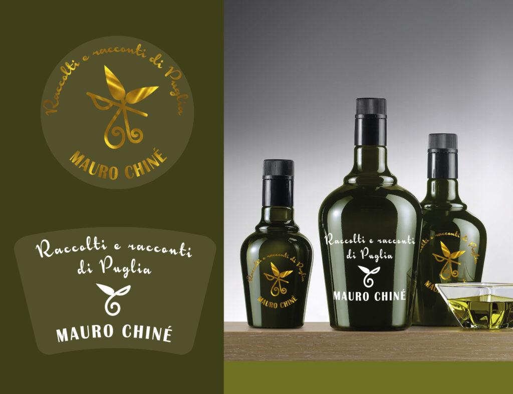 grafica etichette adesive trasparenti per olio di oliva