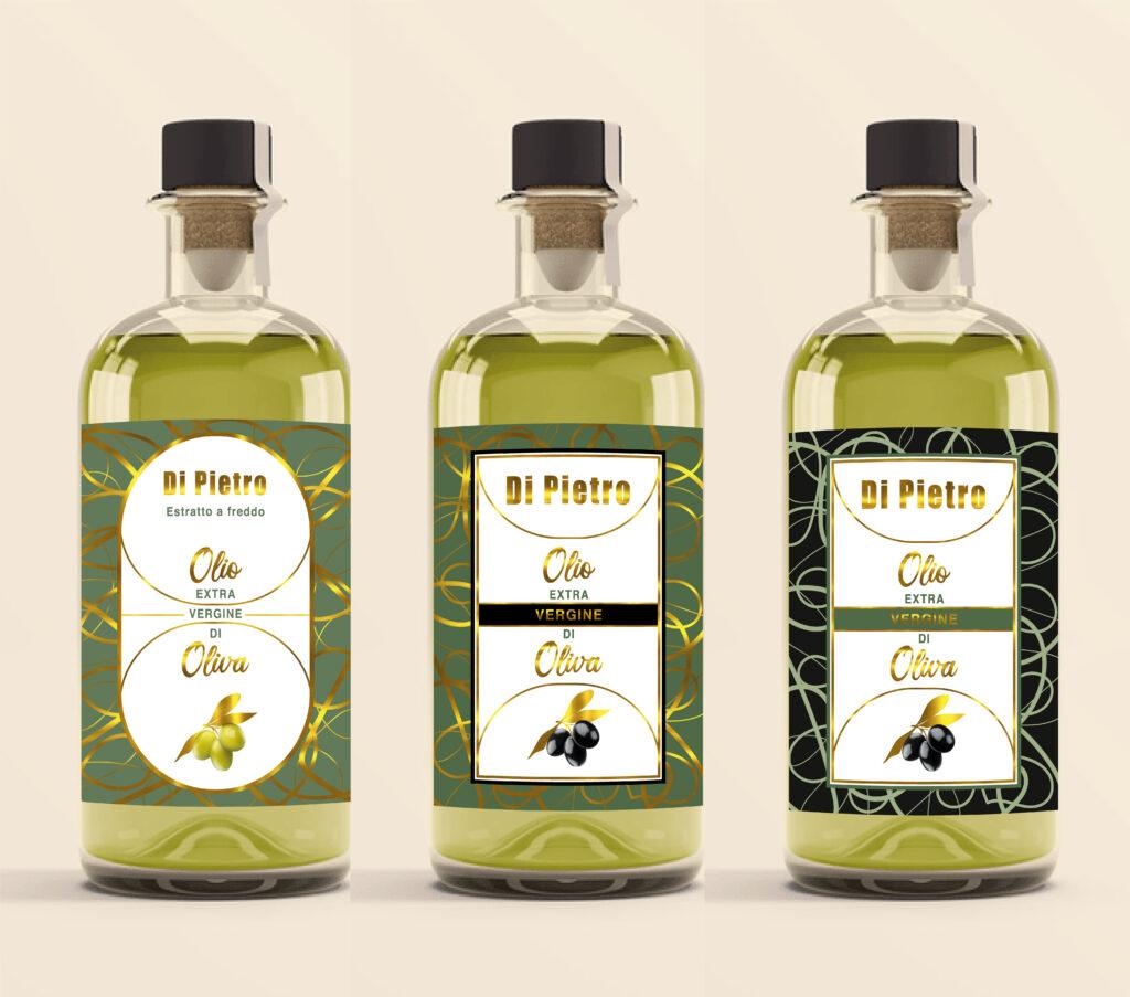 etichette per olio come stamparla
