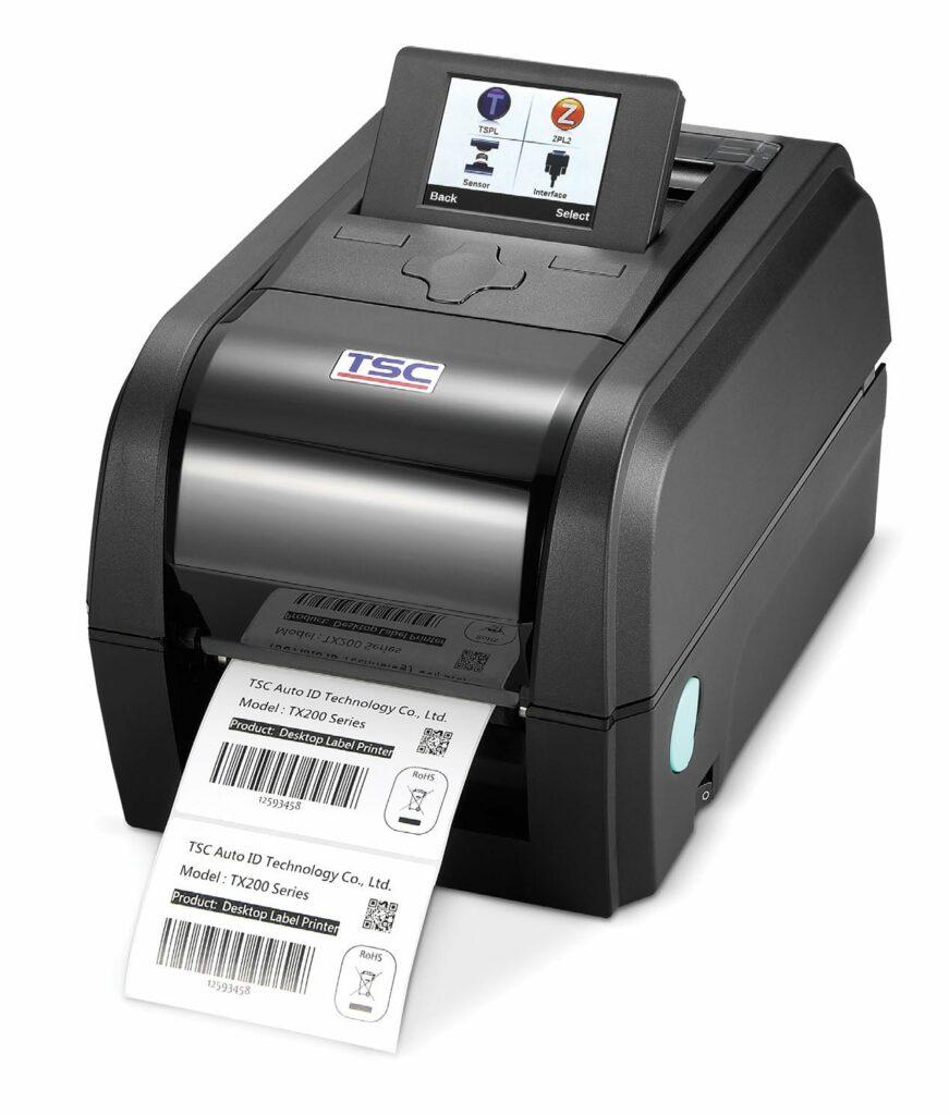 Stampanti desktop TSC a trasferimento termico TX200_TX300_TX600