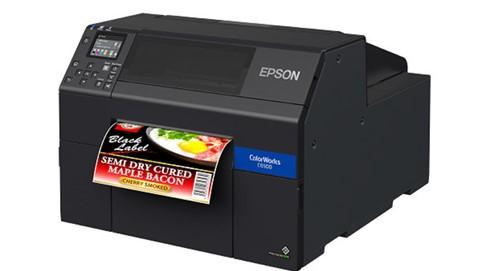 stampante di etichette in rotolo a  colori