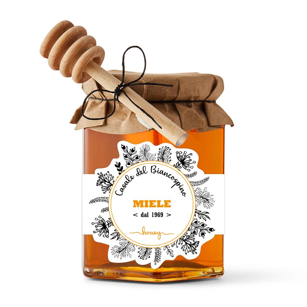 grafica etichette per miele