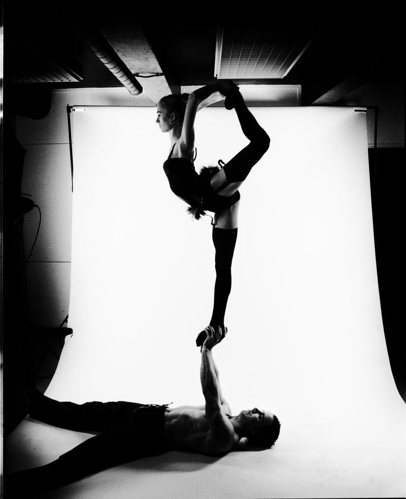 akrobaterna henrik och louise