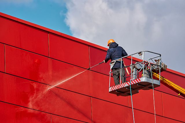 Gevelreiniging - ACS Amsterdam