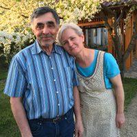 Dana og Costica - pastor - sekr. for AKO AKO.Romania
