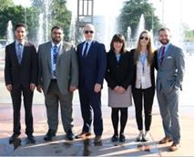ADHRB and BIRD staff in front of the UN