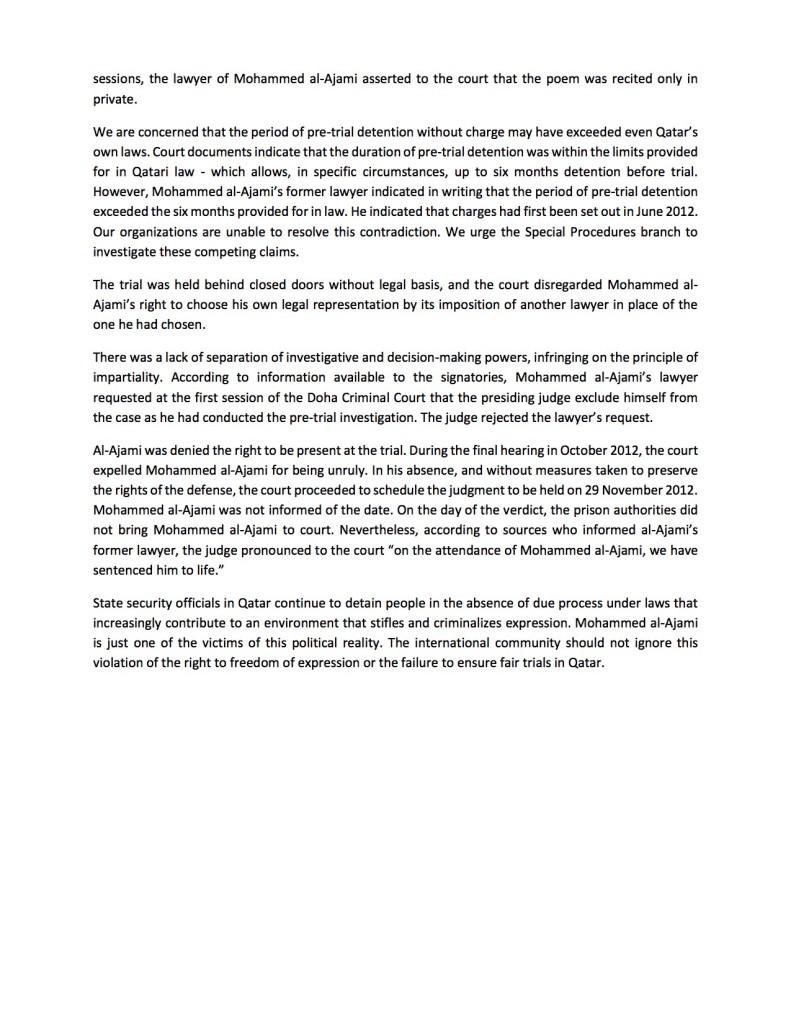 UNSR Letter on Al-Ajami5