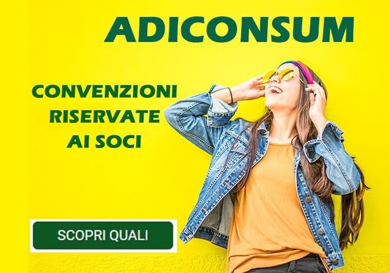 CONVENZIONE SOCI ADICONSUM