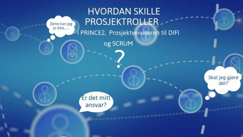 Animert bilde som forside til kursvideo: nettverkskart og snakkebaobler.