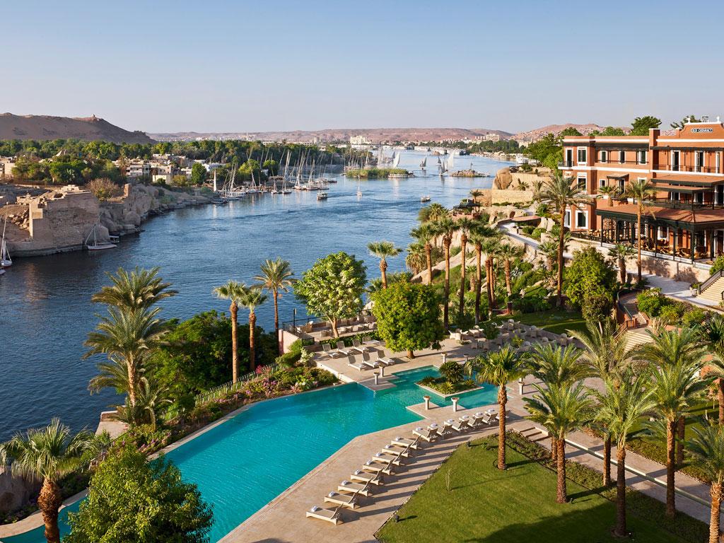Sofitel Old Cataract Aswan Hotelanlage