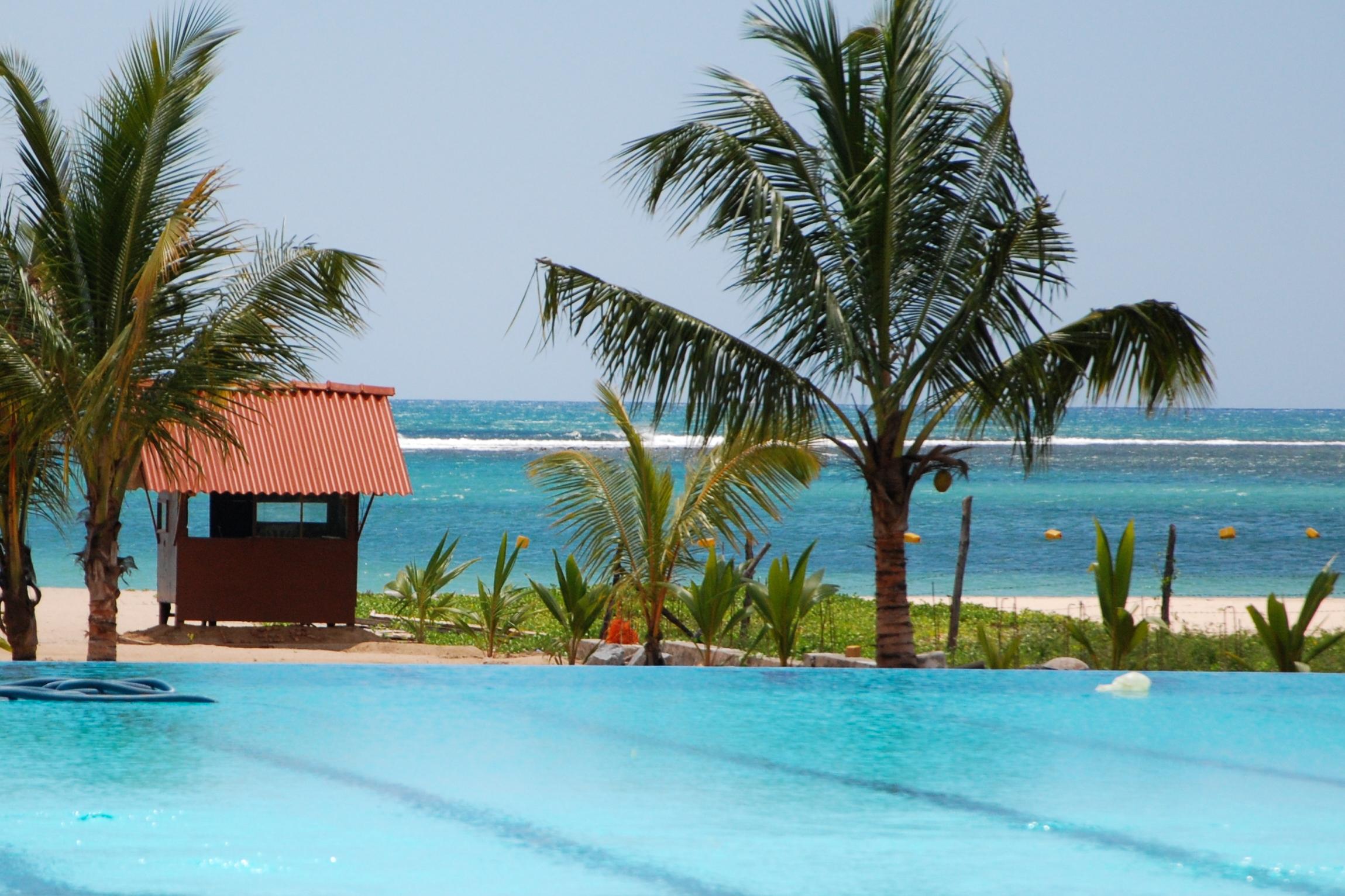 Hotel Marina Beach Passikuda Sri Lanka Meerblick