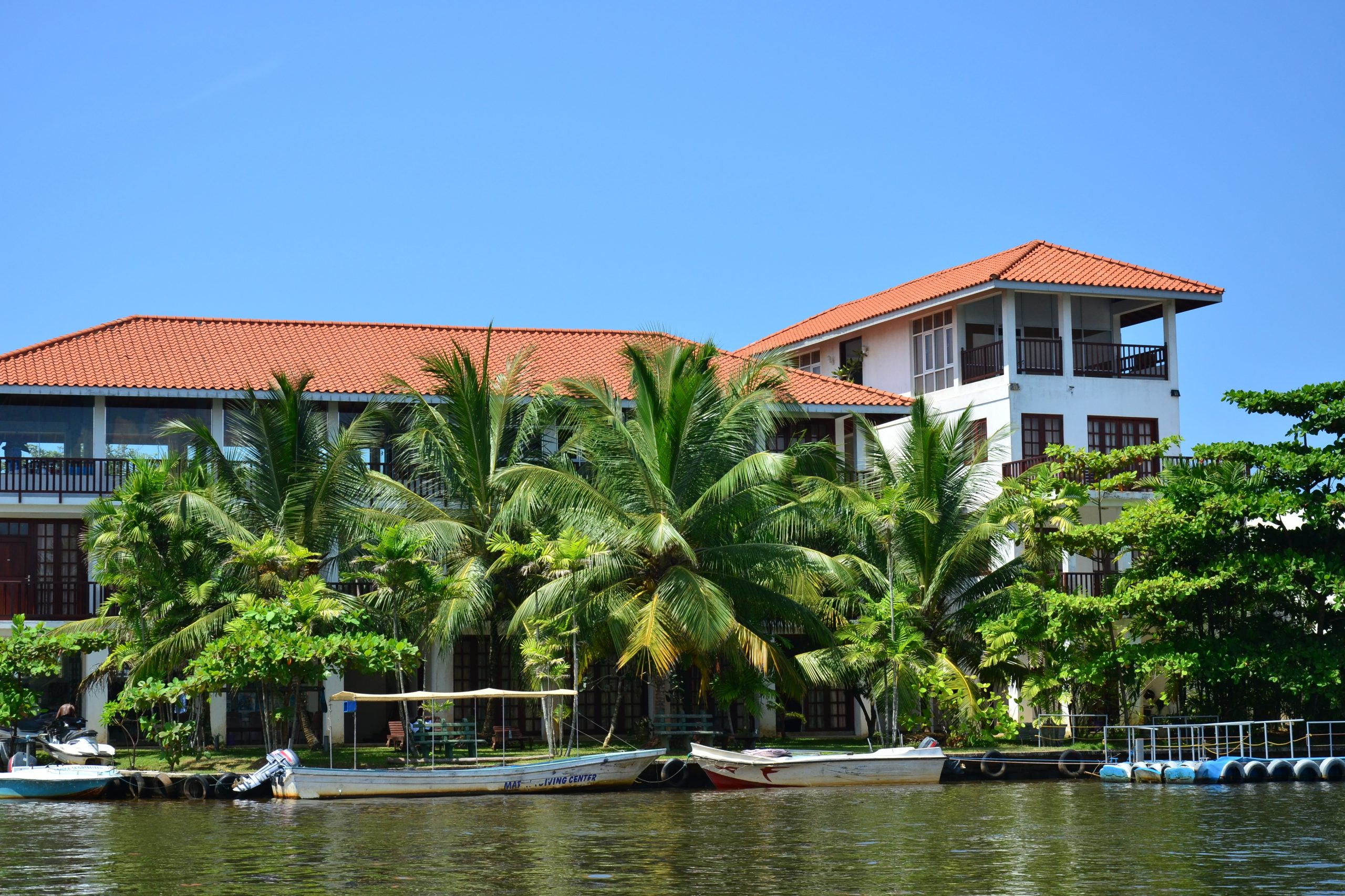 Sri Lanka Bentota Hotel Marina Aussenansicht