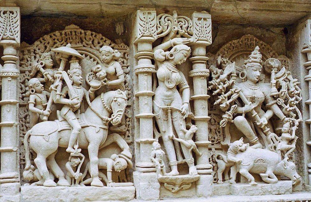 Tempel von Khajuraho Madhya Pradesh Indien
